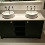 double bowl vanity unit