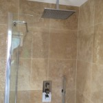 square shower set
