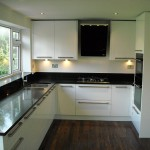 gloss white with quartz composite surface