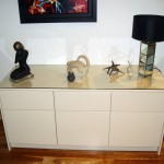 latte gloss sideboard