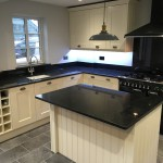 white tie shaker with angola black granite