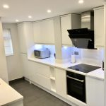 j handle satin white with unistone bianco assoluto quartz